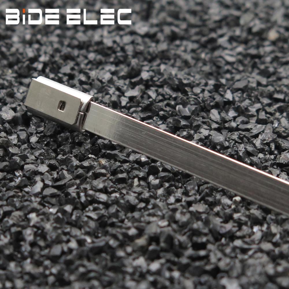 MLT-12多勾式白钢不锈钢阶梯扎带-乐清市百德电气有限公司
